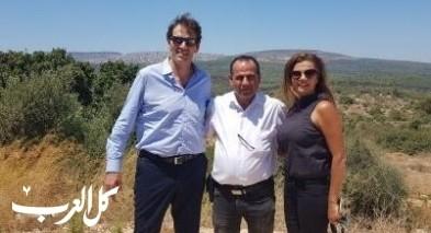 مدير عام وزارة السياحة يزور الشبلي أم الغنم