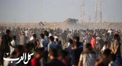 إصابات خلال مسيرات العودة في غزة للأسبوع الـ21