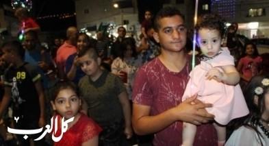 مشاركة واسعة في مسيرة عيد الأضحى في كفركنا