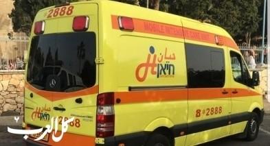 طاقم حيان للعلاج المكثف ينقذ حياة رجل من ابو سنان