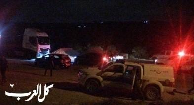 اندلاع حريق في الاحراش قرب عرب الحجاجرة