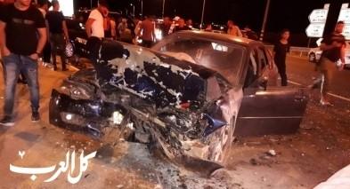 اصابة 10 اشخاص بجراح متفاوتة بحادث قرب اريحا