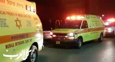 اصابة عامل بجراح متوسطة بعد سقوطه من علو في مسعدة