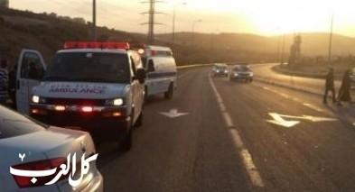 اصابة 7 أشخاص في حادث طرق بالقرب من مجدل شمس