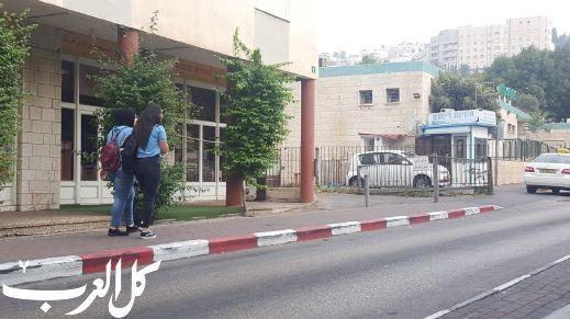 الناصرة: التزام شبه تام باضراب المدارس