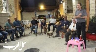 وفد من عائلة غزيل يجتمع بالمرشح حسن عثامنة