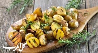 طريقة تحضير البطاطا المشوية بالأعشاب
