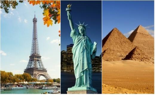 أهم المعالم السياحية في العالم