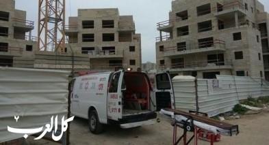 حيفا: إصابة عامل (35 عامًا) في ورشة بناء