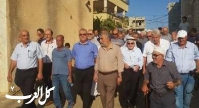 لجنة المتابعة تحيي ذكرى مجزرة صندلة