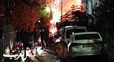 اندلاع حريق في منطقة سكنية بطبريا دون اصابات