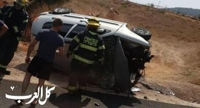 إصابة شاب من وادي سلامة بحادث