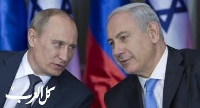 بوتين ينفي علاقة اسرائيل بسقوط الطائرة الروسية ونتنياهو يقترح ايفاد قائد سلاح الجو الى موسكو
