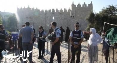 الشرطة: محاولة تنفيذ عملية طعن قرب باب العامود في القدس