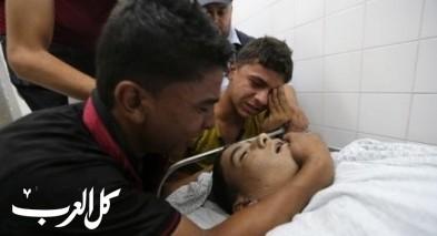 انتشال جثماني شهيدين قرب حدود قطاع غزة