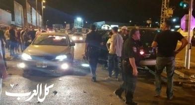 حادث طرق في يركا يسفر عن اصابة 6 اشخاص