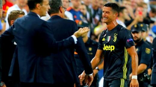 رونالدو مهدد بالإيقاف لـ 3 مباريات