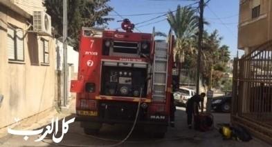 الناصرة: اندلاع حريق داخل منزل