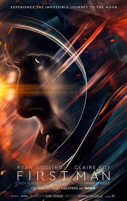 First Man.. رحلة آرمسترونغ إلى الفضاء