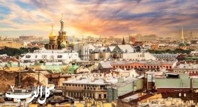 أشهر المعالم في مدينة سانت بطرسبرغ