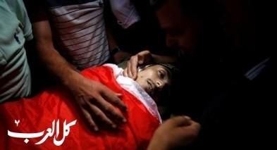 تشييع جثمان عماد اشتيوي في غزة