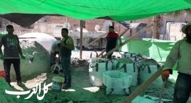 عكا: بدء العمل بترميم أسطح جامع الجزار