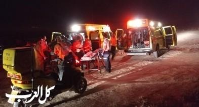 اصابة شاب بجراح متوسطة بعد قفزه في بحيرة طبريا