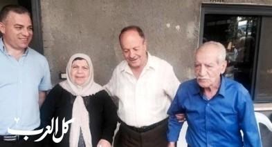 سخنين: الشعبية تزور أهالي الشهيدين غنايم وأبو صالح
