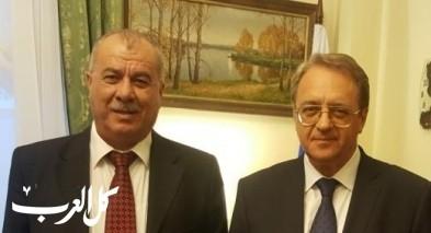 بركة يلتقي نائب وزير الخارجية الروسي بموسكو