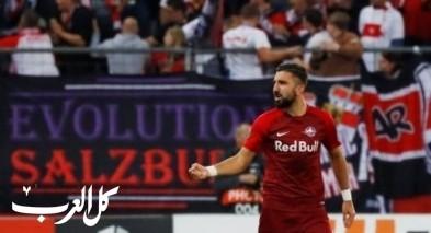 هدفان للنجم النصراوي مؤنس دبور بفوز سالزبورغ