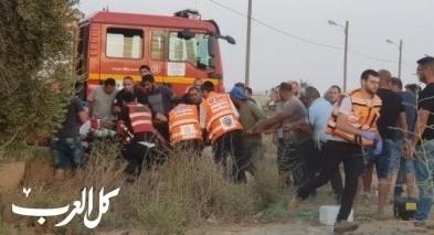 النقب:إقرار وفاة العامل الثاني الذي سقط ببئر قبل أيام