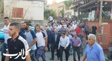 زلفة: تشييع جثمان ضحية حادث العمل محمد اغبارية