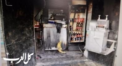 الاطفاء: إضرام النار بمطعم بالبلدة القديمة كان متعمدا
