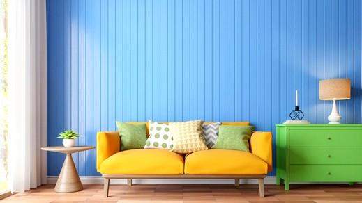 ألوان دهانات مميزة لمنزل مفعم بالحيوية