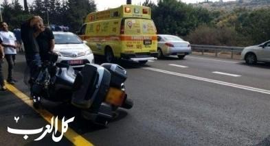 إصابتان في حادث طرق قرب عرب العرامشة