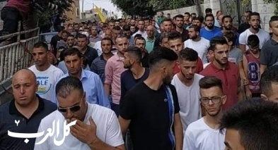 الآلاف في جنازة الشهيدة عائشة رابي من بديا