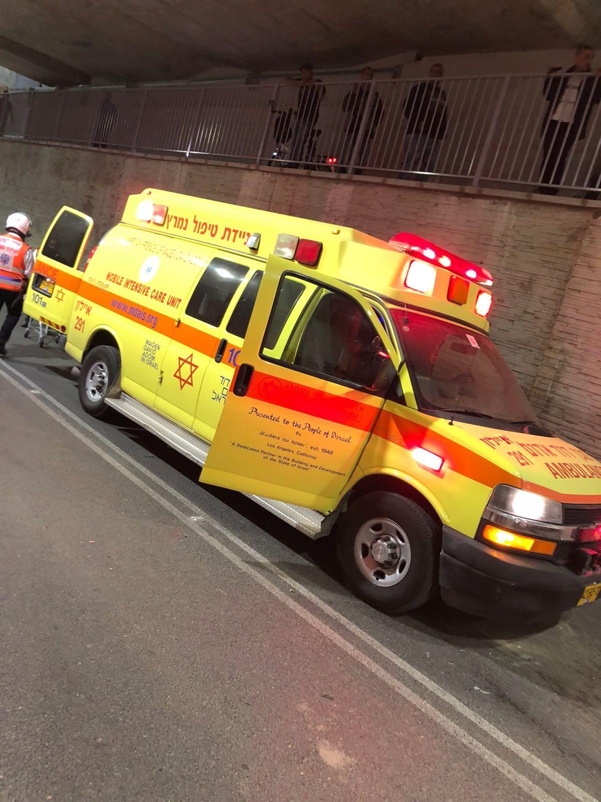 إصابة خطيرة إثر حادث طرق قرب مسعدة