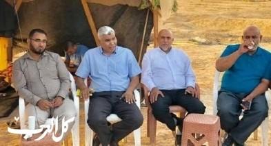 لجنة التوجيه تنظم مظاهرة احتجاجية لنصرة العراقيب