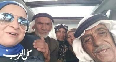 ريما أبو قطيش من بلدة أبوغوش تقل أهالي المرضى