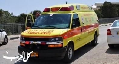كفار سابا: إصابة سيدة بجراح خطيرة إثر تعرضها للدهس