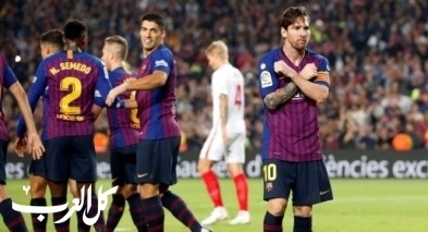 برشلونة ينتزع صدارة الدوري الإسباني بفوز كبير