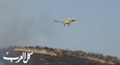 أم الفحم: اندلاع حريق في منطقة أحراش قرب عين ابراهيم وإخلاء منازل من سكانها