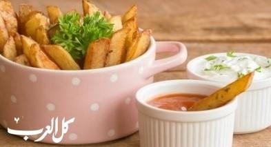 مقبلات شهية: بطاطا مقلية بتتبيلة الشطّة