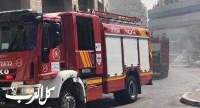 إخلاء مستشفى المزرعة جرّاء اندلاع حريق