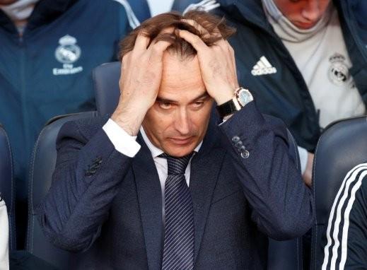 ريال مدريد يعلن عن إقالة مدربه جولين لوبيتي