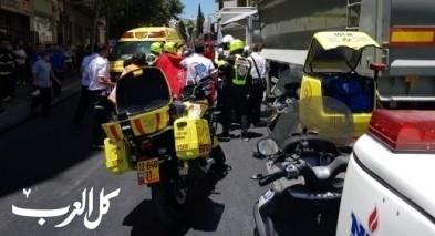 القدس: إصابة 4 أشخاص إثر حادث طرق