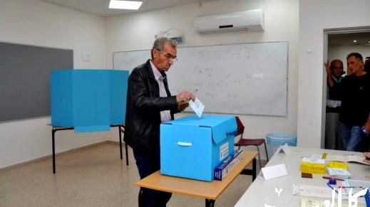 افتتاح صناديق الاقتراع في كفرقرع