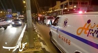 سخنين: إصابة 4 أشخاص بحادث طرق