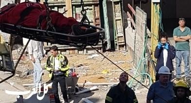 سقوط عامل في ورشة بناء ببكعات أونو