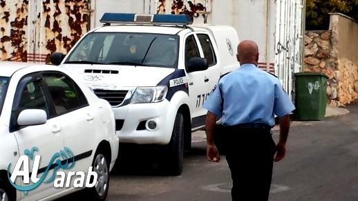 اعتقال مشتبه (50 عامًا) من الرامة بإلقاء عبوّة ناسفة